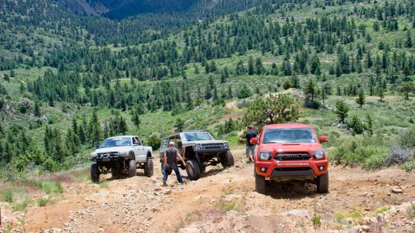 Off Roading In Colorado